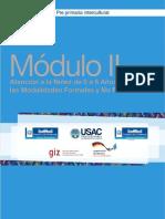 PDF Modulo II Atencion a La Niez de 0 a 6 Aos a Traves de Las Modalidades Formales y No Formales Compress