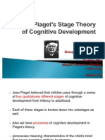Jean Piaget's Stage Theory of Cognitive Development