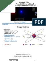atividade PHET - Potencial Elétrico