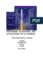 The I AM 22 Chakra Chart