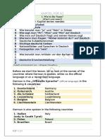 German A1 Level - Chapter 1 - Wie Ist Ihr Name