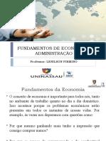 Fundamentos de Economia e Administração
