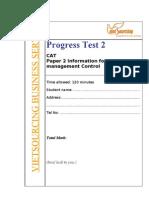 Progress Test T2_Test2 With Keys
