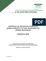 URRAO-ESP-I-2009