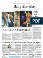 The Daily Tar Heel for April 20, 2011