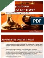 DWI Attorney EL Paso