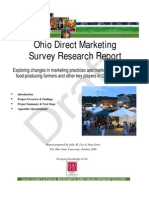 Direct Marketing Ohio Survey Study