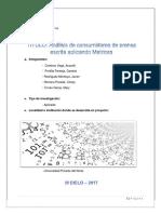 MODELO DE INFORME  FINAL  DEL PROYECTO DE APLICACION T3.(Desarrollado por los alumnos)