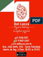 Cardápio Del Lucca Pizzaria Delivery Instagram e Facebook (13)