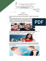 PERSONAL SOCIAL   FICHA N° 07   CONFLICTOS EN LA ESCUELA     06-10-21