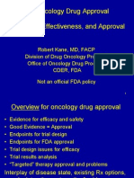 FDA Approval for Oncology Drugs