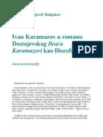 o Liku Ivana Karamazova Bulgakov Cela Verzija
