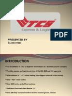 detail presentation on TCS company