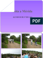 VISITA A MERIDA 3º ESO