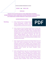 Peraturan KPU No.04 Tahun 2010