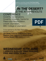 Mirage In The Desert? Reporting the Arab Revolts Conference