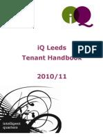 iQ Leeds Tenant Handbook 2010-11