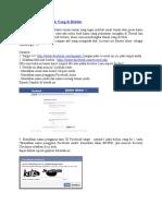 Melihat Email Facebook Yang Di Hidden
