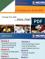 First Aid Training 2010