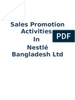 Nestle Sales Promotion