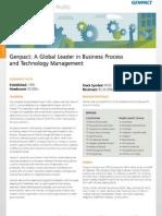 Genpact Factsheet