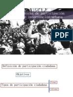 #usde #regurbana 7/8 | Métodos y técnicas participativas en proceso de intervención urbana