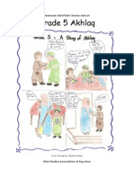 Grade 5 Akhlaq Book