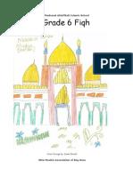 Grade 6 - Fiqh Book
