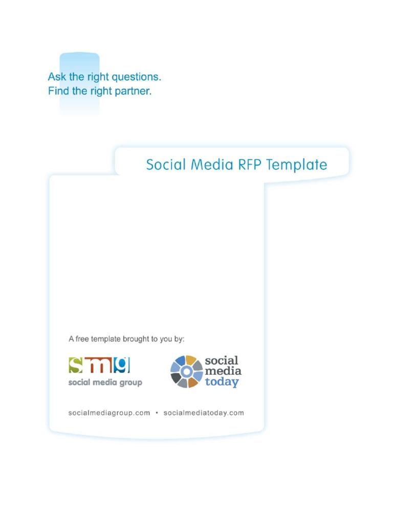 Facebook+Marketing+Proposal | Request For Proposal | Social Media