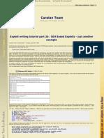 Exploiting 3 Writing SEH Based Exploits B (by corelanc0d3r)