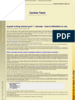 Exploiting 7-Unicode (by corelanc0d3r)