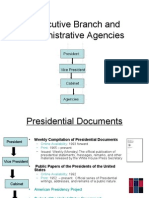 Executive Branch and Administrative Agencies