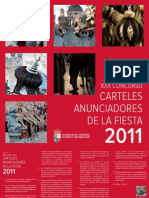 XXX Concurso Carteles 2011