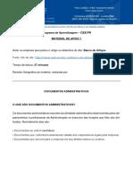 Material de Apoio - Documentos Administrativos