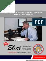 Monahan Election Brochure 2011