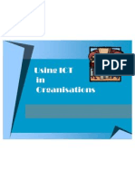 ICT in Organsiations