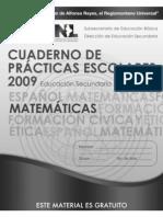 Ejercicios de matemáticas 1º Sec para Prueba Enlace