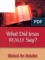 What Did Jesus Really Say?!!