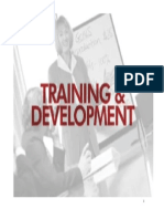 Training and Development in Organ is at Ions