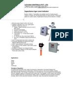 Capacitance Type Level Indicator