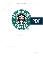 Strategy of Starbucks-1