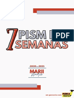 PISM 1 EM 7 SEMANAS