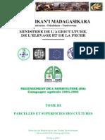 Recensement de l'agriculture (RA) pour la campagne agricole 2004-2005 - Tome III