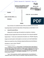 LIBERI v BELCHER, et al.(N.D. TX) - 172 - ORDER transferring this case to the Northern District of Texas - gov.uscourts.txwd.476943.172.0