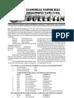 2011 Luangmual Pastor Bial Inkhawmpui Vawi 27-Na Bulletin