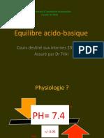 Equilibre Acido Basique 1er