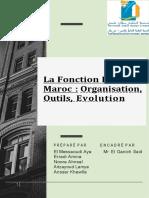 La fonction RH au Maroc organisation ,outils ,évolution r