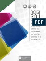 Agencia Canaria - Programa de Actuaciones 2011