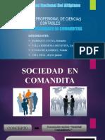 Dipositiva de Sociedades en Comandita