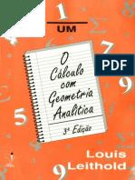 Calculo Geometria Analtica Vol 1